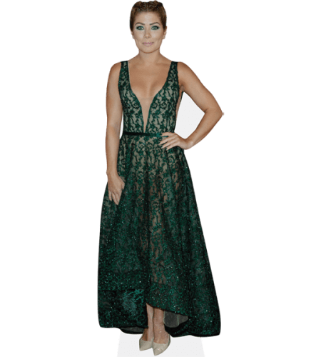 Nikki Sanderson (Green Dress)