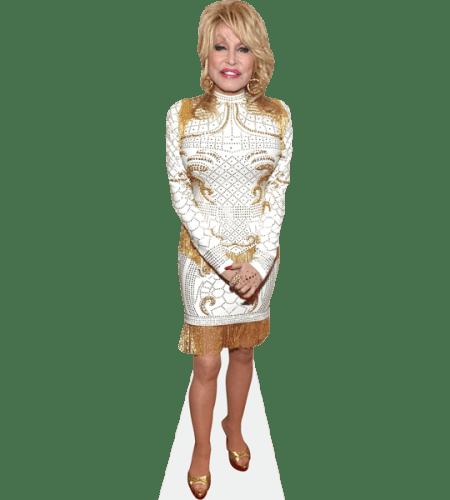Dolly Parton (White Dress)