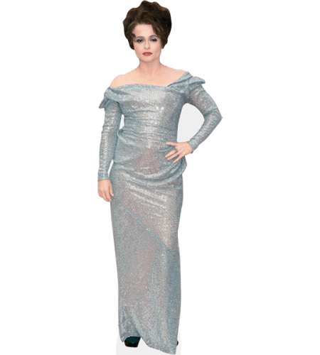 Helena Bonham Carter (Silver Dress)