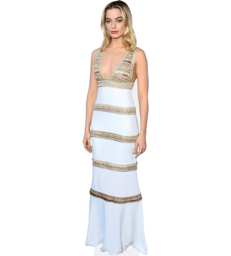 Margot Robbie (White Dress)