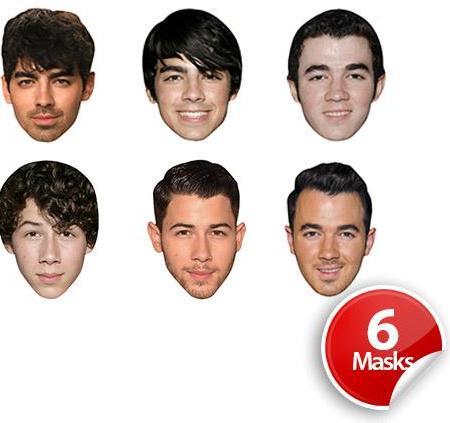 Boyband 9 Mask Pack