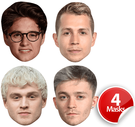 The Vamps Mask Pack