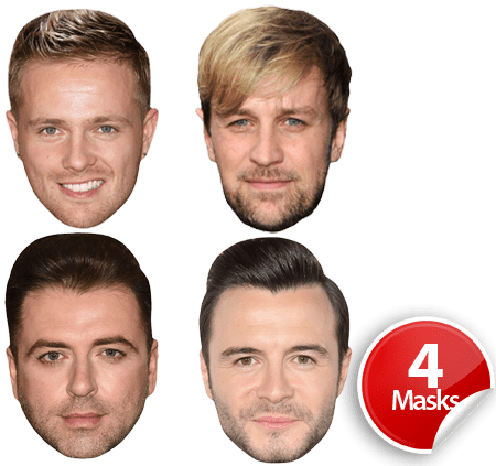 Westlife Mask Pack