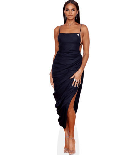 Alesha Dixon (Black Dress)