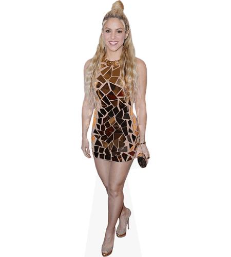 Shakira (Gold Dress)