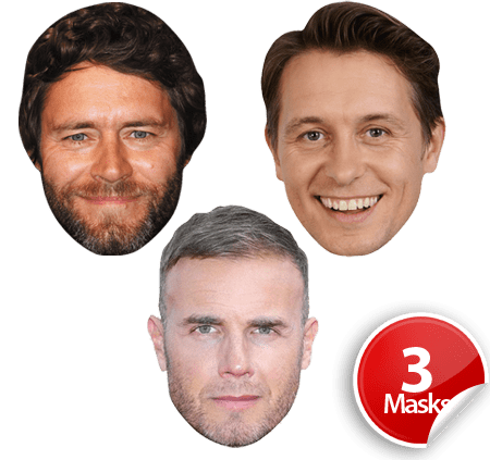 Take That (1) Mask Pack