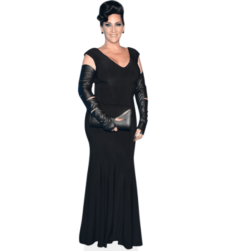 Michelle Visage (Black Dress)