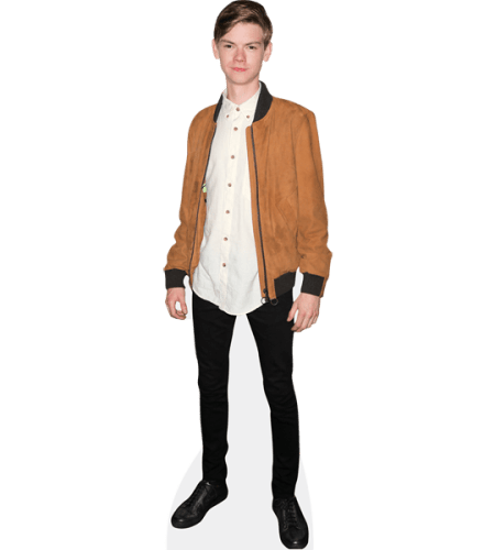 Thomas Brodie-Sangster (Brown Jacket)