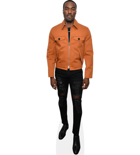 Yahya Abdul-Mateen II (Orange Jacket)