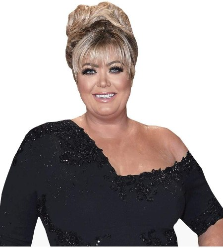 Gemma Collins (Black Dress) Cardboard Buddy Cutout
