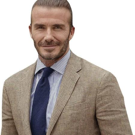 David Beckham (Smart) Cardboard Buddy Cutout