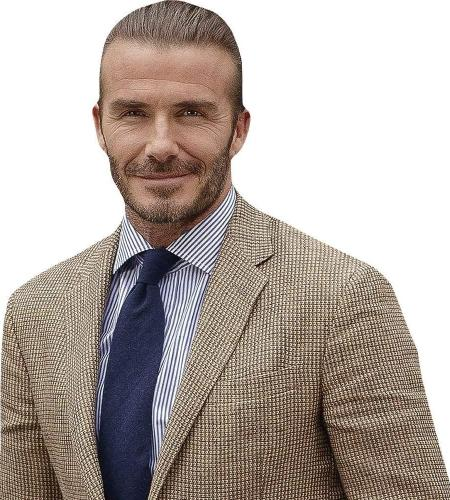 David Beckham (Smart) Cardboard Buddy Cutout