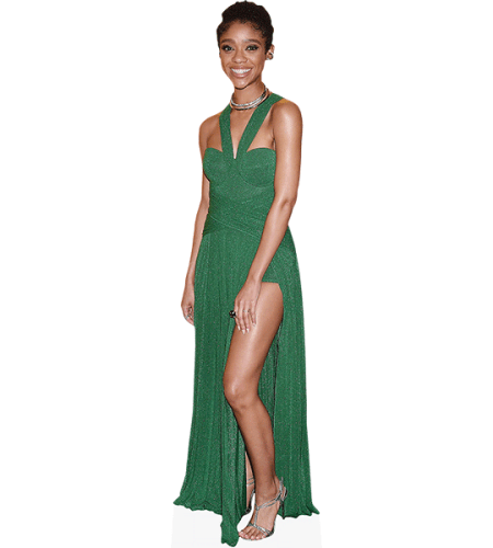 Tiffany Boone (Green Dress)