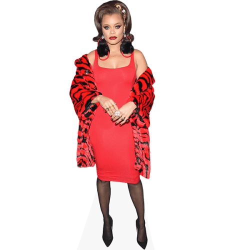 Andra Day (Red Outfit)