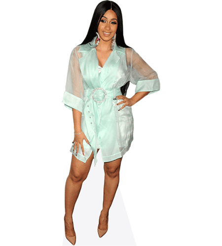 Cardi B (Green Outfit)