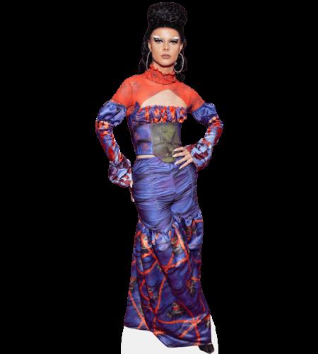 Gothy Kendoll (Purple Dress)