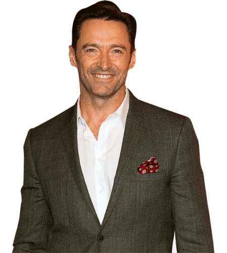 Hugh Jackman (Grey Jacket)