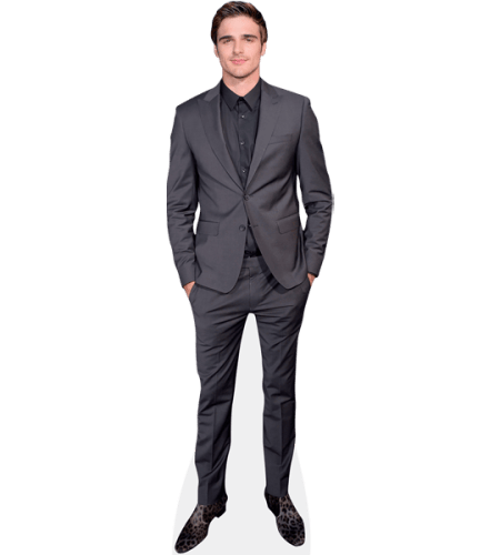 Jacob Elordi (Grey Suit)