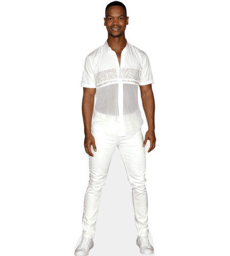 Johannes Radebe (White Outfit)