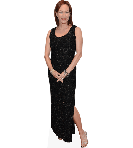 Tanya Franks (Black Dress)