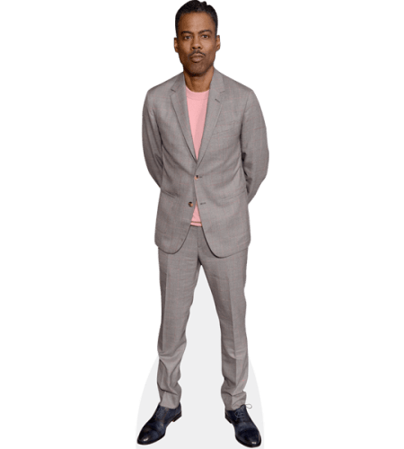 Chris Rock (Grey Suit)