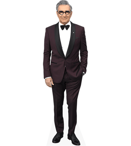 Eugene Levy (Burgundy Suit)