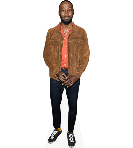 Lamorne Morris (Brown Jacket)