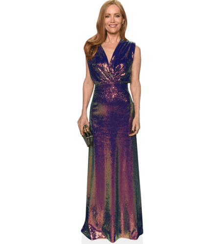 Leslie Mann (Shimmery Dress)
