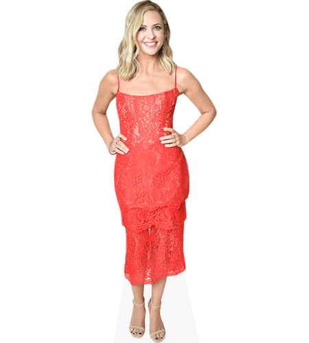 Sarah Michelle Gellar (Red Dress)