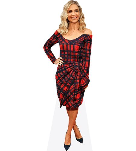 Sarah Michelle Gellar (Tartan Dress)