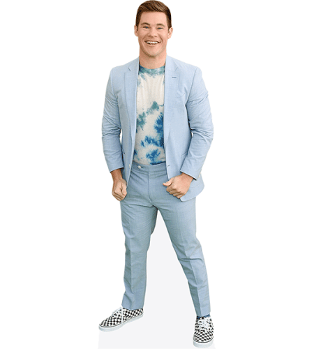 Adam Devine (Blue Jacket)