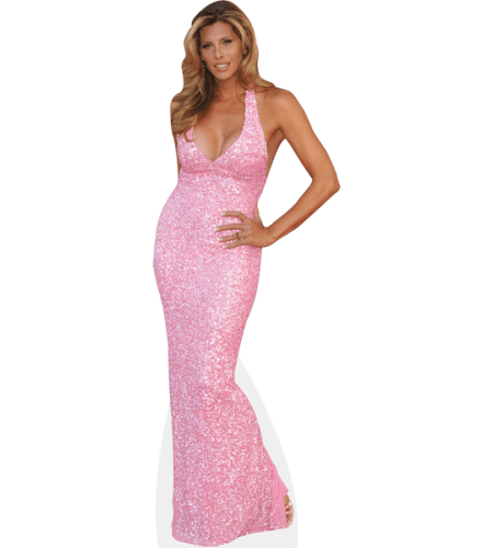 Candis Cayne (Pink Dress)