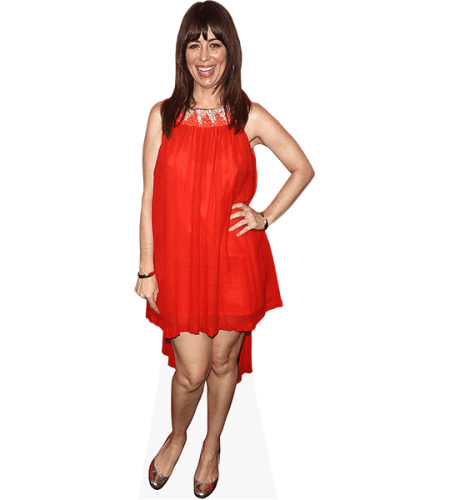 Natasha Leggero (Red Dress)