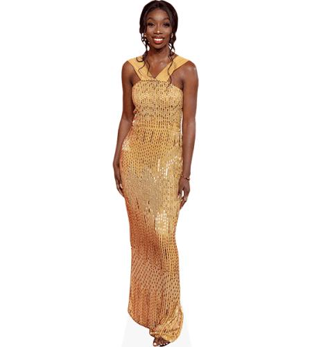 Yewande Biala (Gold Dress)