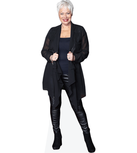 Denise Welch (Black Outfit)