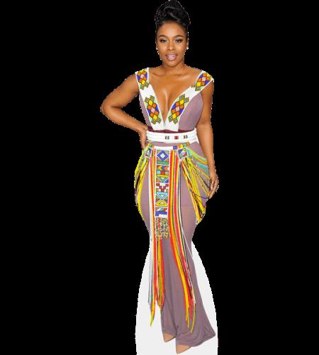 Nomzamo Mbatha (Colourful)