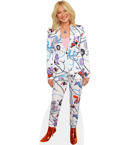 Kerri-Anne Kennerley (Floral Suit)