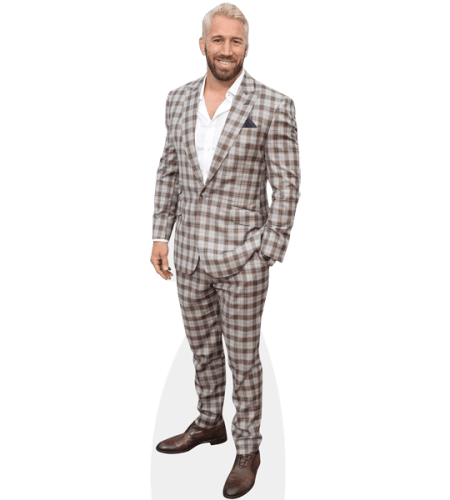 Chris Robshaw (Checked Suit)