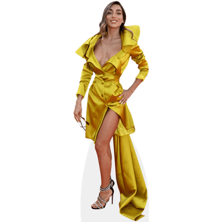 Elisa De Panicis (Gold Dress)