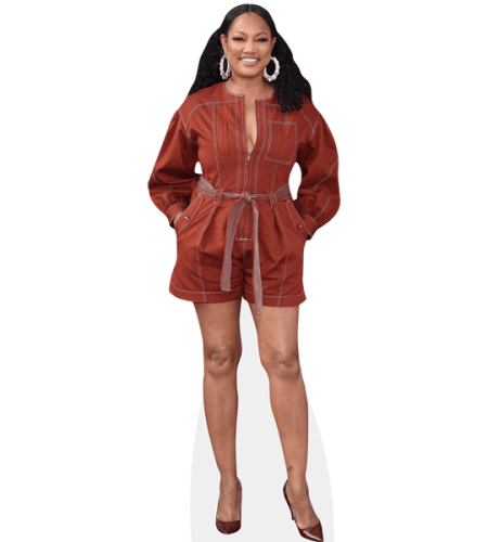 Garcelle Beauvais (Brown Outfit)