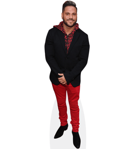 Ronnie Ortiz-Magro (Red Trousers)