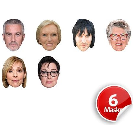 UK TV Cookery show 1 Mask Pack