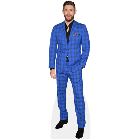 Jensen Ackles (Checkered Suit)