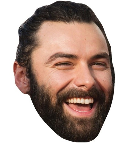 A Cardboard Celebrity Mask of Aidan Turner