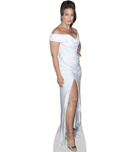 Ashley Graham (White Gown)