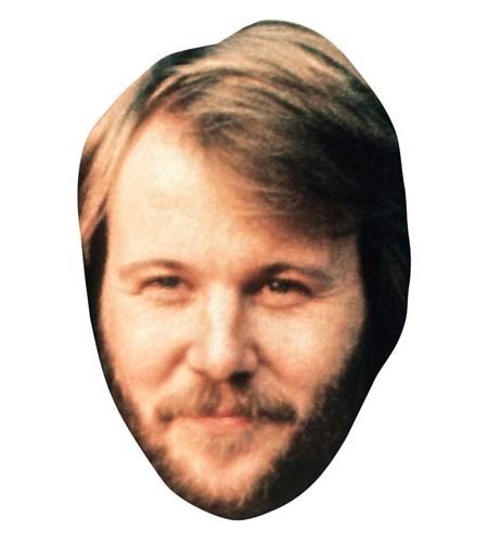 A Cardboard Celebrity Masks of Benny Andersson
