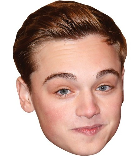 A Cardboard Celebrity Mask of Dean Charles Chapman