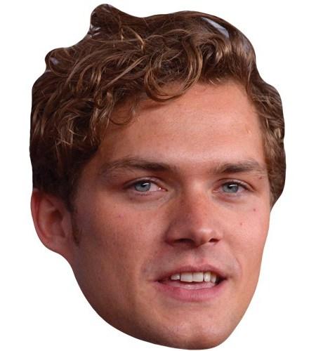 A Cardboard Celebrity Mask of Finn Jones