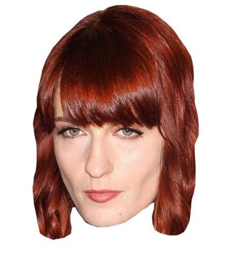 A Cardboard Cutout Celebrity Florence Welch