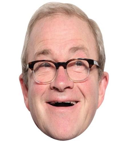 A Cardboard Celebrity Mask of Harry Enfield